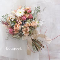 bouquet (オーダーメイドブーケ + ブートニア)