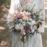 レンタルブーケ *beige × vintage rose* 3泊4日