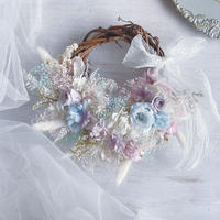 wreath   *pastel colors*