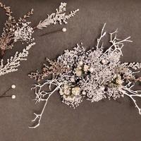 wedding hair accessory *silver*