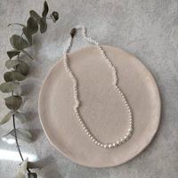 tsunagu necklace  [オンライン限定/maru  pearl]