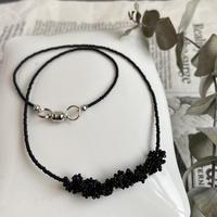 awatsubu  necklace [black]