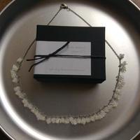 星の粒necklace 【パールアイボリー、受注生産品】