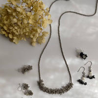 awatsubu  necklace  [gray]