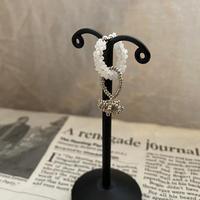 tasu silver /Czech beads[1piece]