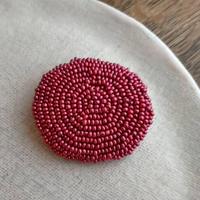 maru  brooch  [pink]