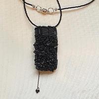 shikaku black necklace[1点限り]