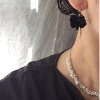 雫と粒の耳飾り[受注生産品]