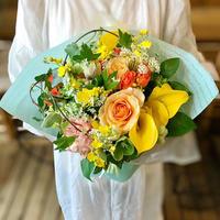 ゆず花オリジナル ナチュラルブーケ -Yellow-