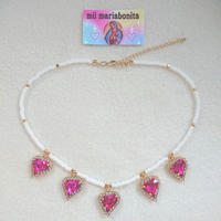 Arabian Night Choker☆Pink