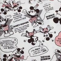 ミッキーマウス シーチング【10cmあたり】