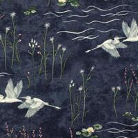 MODA summer on the pond 110cm幅【10cm単位】6720−16