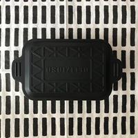 pot入りkitchen soap 黒 角型(大)