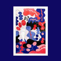 A2 RISO Poster by Chou Yi