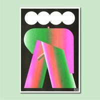 A3 RISO Poster_B    by  Shun Sasaki / 佐々木俊