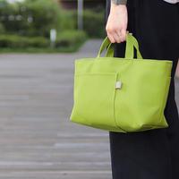 北欧×富士金梅 マスカットグリーン・帆布トートバッグ【シップトート】