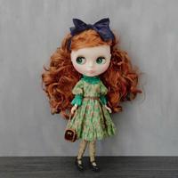 [完成品/Pre-order] ブルジョンドレス (緑色) / Bourgeon dress (  Green color)