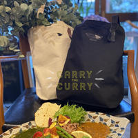 『CARRY the CURRY 』カレー刺繍トート編