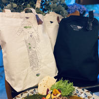 『CARRY the CURRY  』レシピ全体刺繍トート編