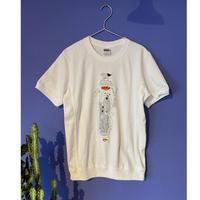 【カレーレシピ刺繍Tとシャツ 白】8周年記念