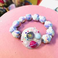 🌙宇宙ブレスレット🌙(pastel)