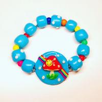 🍄きのこブレスレット🍄(turquoise)