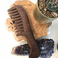 Sandal wood comb
