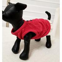 秋のわんこ服赤Sサイズ
