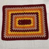 編み編みランチョンマット