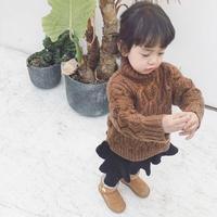 unisex Knit brown