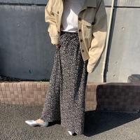 Dalmatian skirt black