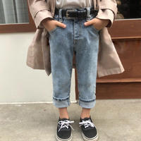 high-waistdenim pants