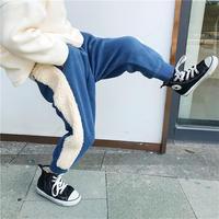 line boa pants Navy