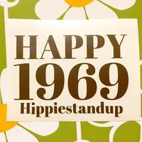 Hippiestandup-Sticker