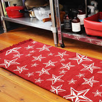 STAR FRINGE KITCHEN MAT 50×180