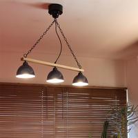 GENDER WOOD ROD 3CEILING LAMP (電球あり)