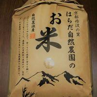 玄米8kg(令和元年産・自然農法無農薬栽培切り替え2年目・にこまる)