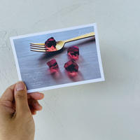 ハラペコラボのポストカード  -  Garnet