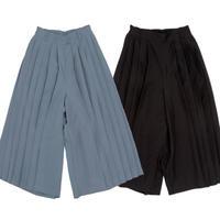 Pleats Wide Pants【11月下旬より順次発送】
