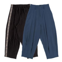 Oneside Line Tapered Pants【11月下旬より順次発送】
