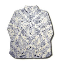 PHAISE PAISLEY L/S SHIRT OFF WHITE