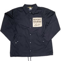 """TWIST COACH JACKET  NAVY"