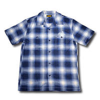 SOUTH S/S CHECK SHIRT BLUE