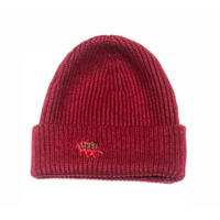 DXN LOGO KNIT CAP RED-GREEN