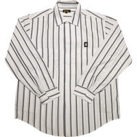 STRIPE L/S SHIRTS WHITE