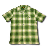 SOUTH S/S CHECK SHIRT GREEN
