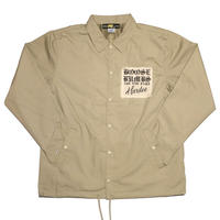 """TWIST COACH JACKET  SAND"