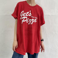 let's pizza Tシャツ