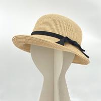 【レクサス岡山様ショールーム展示商品】ラフィアブレード ソフトハットブルトン 石田製帽