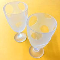 【レクサス岡山様ショールーム展示商品】ワイングラス 平井睦美